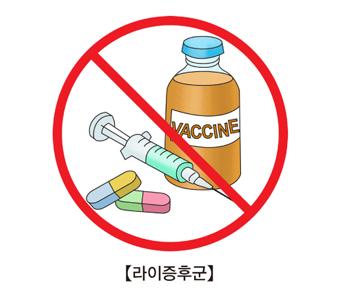 약물 및 주사등 금지표시